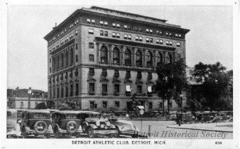 detroit athletic club